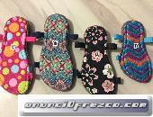 Sandalias y suelas para tejer