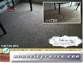 Lavado de alfombras en el DF y el estado de Mexico