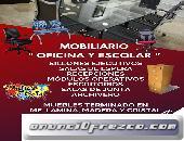 VENTA DE MUEBLES PARA OFICINA Y  ESCOLAR