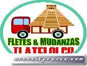 Fletes & Mudanzas Económicos Caja Seca 2 Toneladas Cdmx