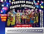 Fiestas felices con payasos para tu fiesta en Atlautla!