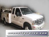 Ford 3.5 ton diésel  tipo orquesta con mini grúa 1 ton.