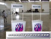 Renta de Expo Stands en Tampico