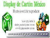 DISPLAY DE CARTÓN MÉXICO