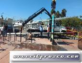 instalacion de postes y camaras de seguridad en vía publica