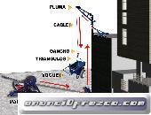 MALACATE DE 500Kg MOTOR HONDA
