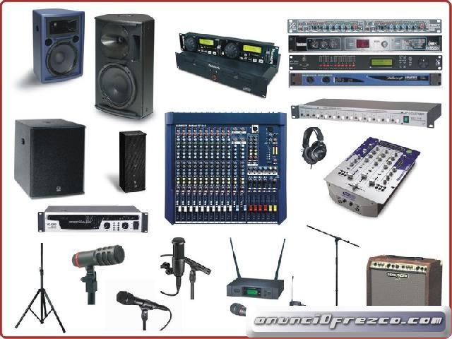 Reparación y servicio profesional a equipo de audio