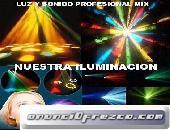Luz y sonido profesional en Puebla