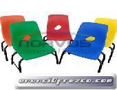 Venta de sillas infantiles escolares resistentes