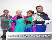Shows infantiles personajes Princesas imitaciones súper héroes chavo del 8 lady bugg Frozen whapayas