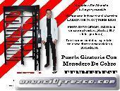 PUERTA GIRATORIA CON MONEDERO DE COBRO EENMEDESE