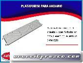 PLATAFORMA PARA ANDAMIO METAL