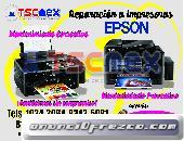 Reparación de impresoras EPSON.