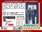 PUERTA BLINDADA DE VISIÓN COMPLETA EENMEDESE