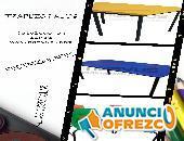 Mesas y butacas escolares infantiles en venta