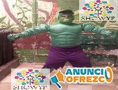 SHOW DE AVENGERS Y SUPER HEROES