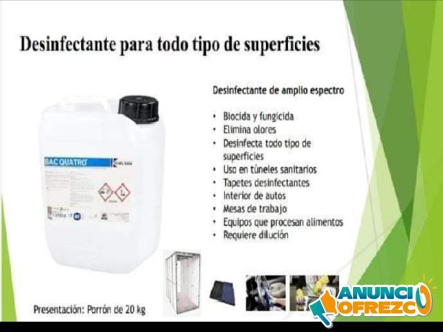 Desinfectante para superficies