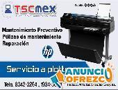 Mantenimiento y Reparación de Plotter HP