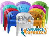 Sillas infantiles de plastico en venta