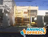 RENTA DE ANDAMIOS CON ESCALERA Y BARANDAL