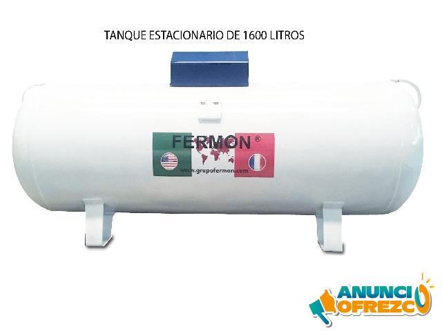 TANQUES DE GAS ESTACIONA FERMON