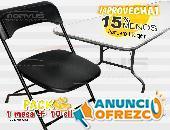 Paquete de sillas y mesa en oferta
