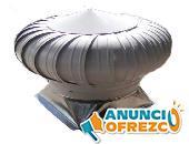 Ventilador Extractor Atmosférico Para Techo Pintro 20 PuLG