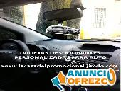 AROMATIZANTES PERSONALIZADOS PARA AUTO