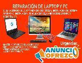 REPARACION DE LAPTOPS Y PC