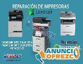REPARACION DE IMPRESORAS Y MULTIFUNCIONALES LEXMARK