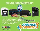REPARACION DE IMPRESORAS Y MULTIFUNCIONALES HP