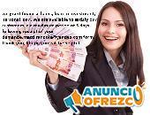Oferta de Créditos, confiable con seguro solo muy rápido.