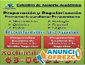 Regularización secundaria y preparatoria