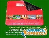 MOUSE PAD PERSONALIZADOS DE LEXAN