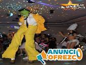 Zanqueros + Batucada + Robot Led / XV años, Bodas, Cumpleaños
