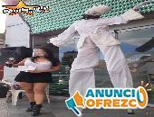 Animadores + Edecanes + Zanqueros + Audio / Puebla