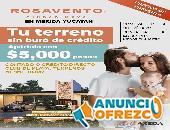 TERRENOS EN MAR DE MERIDA, FACILIDADES, OFICINA QRO VENDE