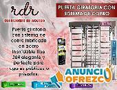 PUERTA GIRATORIA CON SISTEMA DE COBRO- RDR SOLUCIONES DE ACCESO