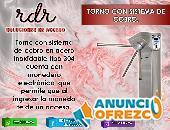 TORNO CON SISTEMNA DE COBRO- RDR SOLUCIONES DE ACCESO