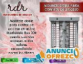 MOLINETE DOBLE PARA CONTROL DE ACCESO- RDR SOLUCIONES DE ACCESO