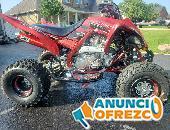 2019 Clean Raptor 700 SE Red