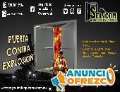 PUERTA BLINDADA CONTRA EXPLOSION RANGO BAJO
