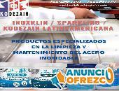 SPARKLING / INOXKLIN / KODEZAIN / LIMPIEZA ACERO INOXIDABLE